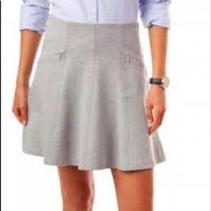 Southern Tide   Skater Skirt Heath, Gray, Size XS